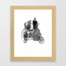 80 Days Sketch Framed Art Print