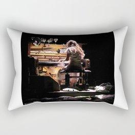 Live weird piano Rectangular Pillow