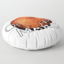 Occupy Mars Floor Pillow