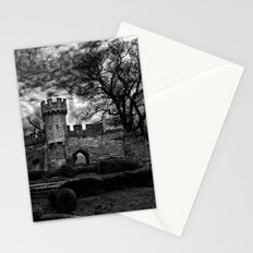 Ruins of Warwick, B&W Version Stationery Cards