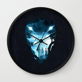 We are not alone Wall Clock
