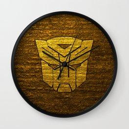 Autobot logo Wall Clock