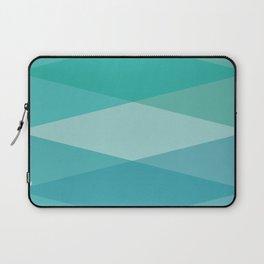Green diamonds Laptop Sleeve