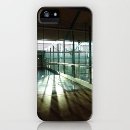 Boarding shadows iPhone Case