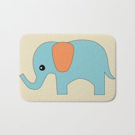 Elephant 3 Bath Mat