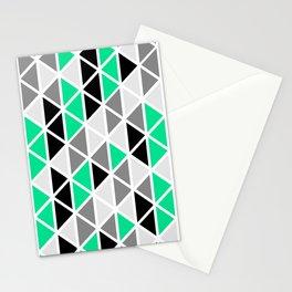 Triangular Vitrail Mosaic Pattern V.03 Stationery Cards