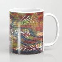 namaste Mugs featuring Namaste by Tiffany Alcide