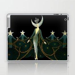 "Art Deco Design ""Queen of the Night"" Laptop & iPad Skin"