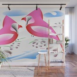 """""""Cardinal Folly"""" Wall Mural"""