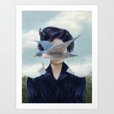 It's a bird ? Art Print