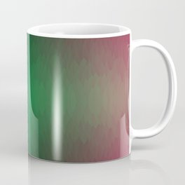 Red black Yellow Green Ombre Flames Coffee Mug