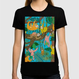 Happy Sloths Jungle T-shirt