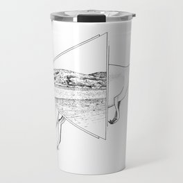 Lucky Bay Kangaroo Travel Mug