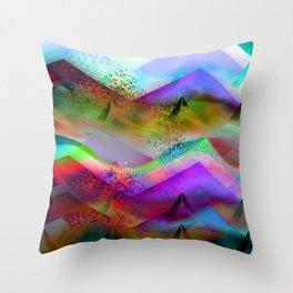 Ocean-Race  no21 Throw Pillow