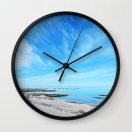 Big Blue Calm Wall Clock