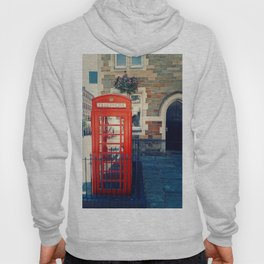 Red phone booth Hoody