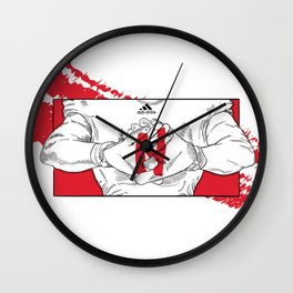 GBR Glove Wall Clock