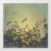 freedom Canvas Prints featuring Freedom by Victoria Herrera