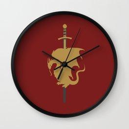 Camelot Wall Clock