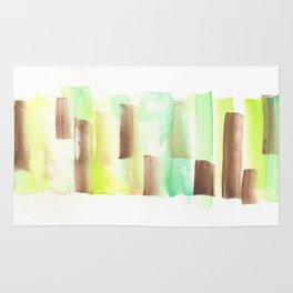[161228] 9. Abstract Watercolour Color Study |Watercolor Brush Stroke Rug