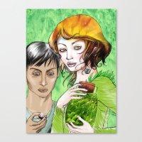 pagan Canvas Prints featuring Pagan magic by Anko