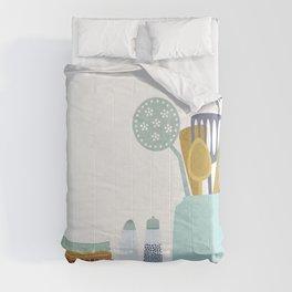 The Kitchen Shelf Comforters