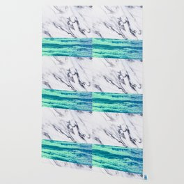 Marble Ocean iPhone Case and Throw Pillow Design Wallpaper