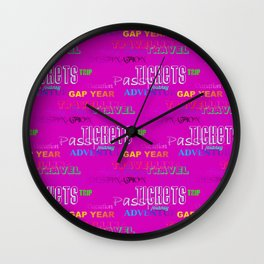 Journey 6 Wall Clock