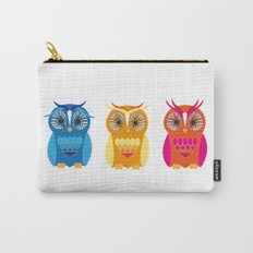 Sad, Happy, Angry Carry-All Pouch