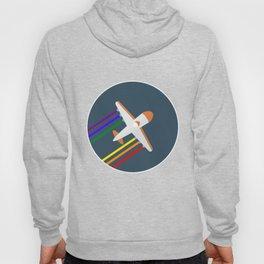 Rainbow Aircraft Hoody