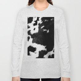 Rustic Cowhide Long Sleeve T-shirt