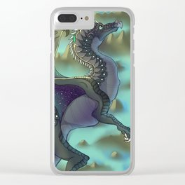 Dragon Swamps Clear iPhone Case