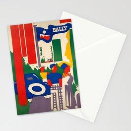Plakat bally modell  bally vintage Stationery Cards