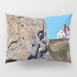 Cliffside Coastal Home Pillow Sham