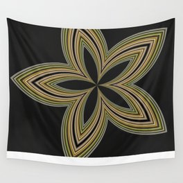Fractal Star Aura in CMR 01 Wall Tapestry