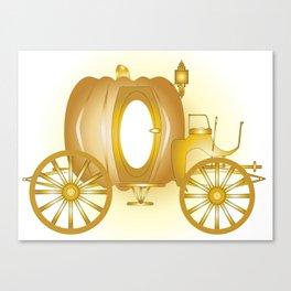 Magic Carriage Canvas Print