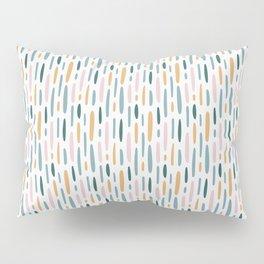 Modern minimal simple stains stripes painting urban pattern Pillow Sham