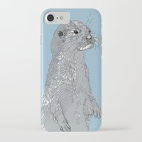 otter iPhone & iPod Cases featuring Otter by caseysplace