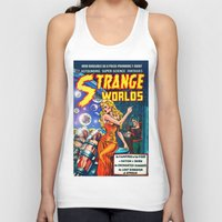 guardians of the galaxy Tank Tops featuring STRANGE TALES - GALAXY GUARDIANS - REDUX by PD POP ART