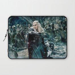 Elf King in the Battle Laptop Sleeve