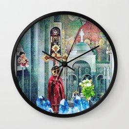 I Live Below Wall Clock