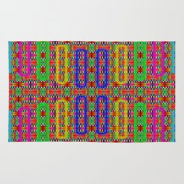 Radiant-sticks-pattern #2 Rug