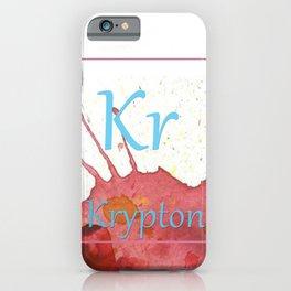 Elementals: Krypton iPhone Case