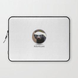 OS XI Honey Badger #dontcare Laptop Sleeve