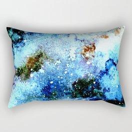 Cool Blue Galaxy Rectangular Pillow
