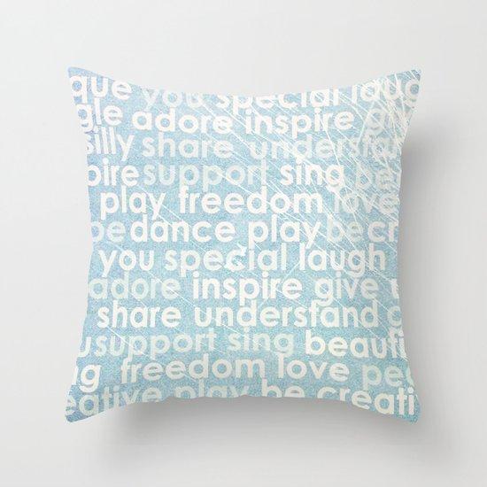 Defining you Throw Pillow