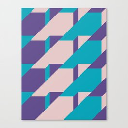 Abstract Glow #society6 #glow #pattern Canvas Print