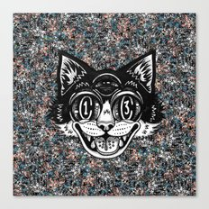 The Creative Cat Canvas Print