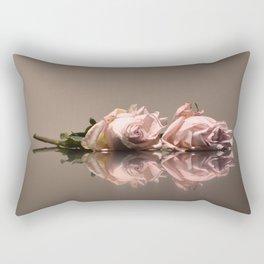 Blush Rose Rectangular Pillow