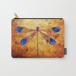 Dragonfly in Amber Carry-All Pouch